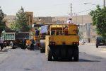 مناطق کم برخوردار کرمانشاه در اولویت آسفالت شهرداری قرار دارد
